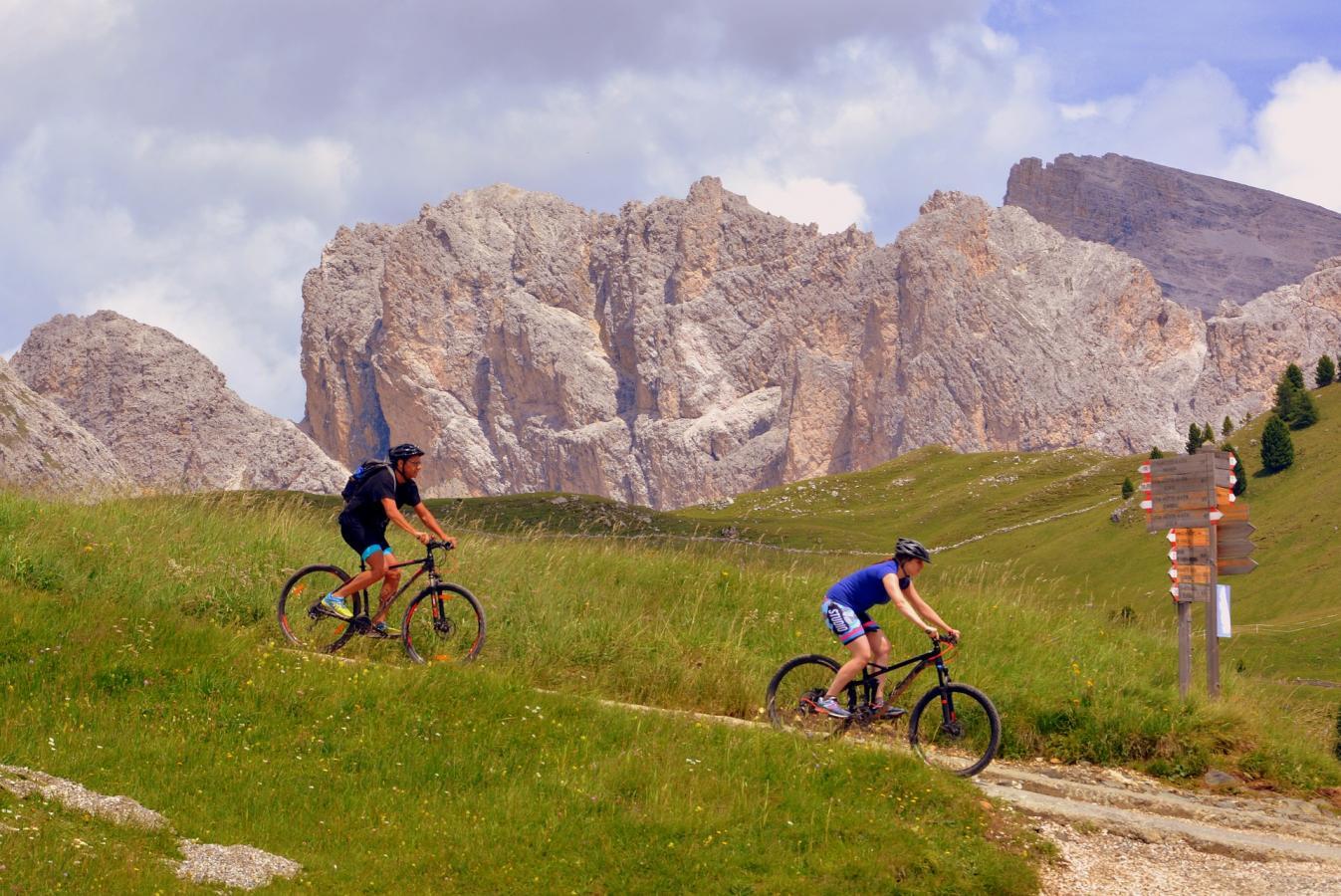 A l'assaut des montagnes en vélo !
