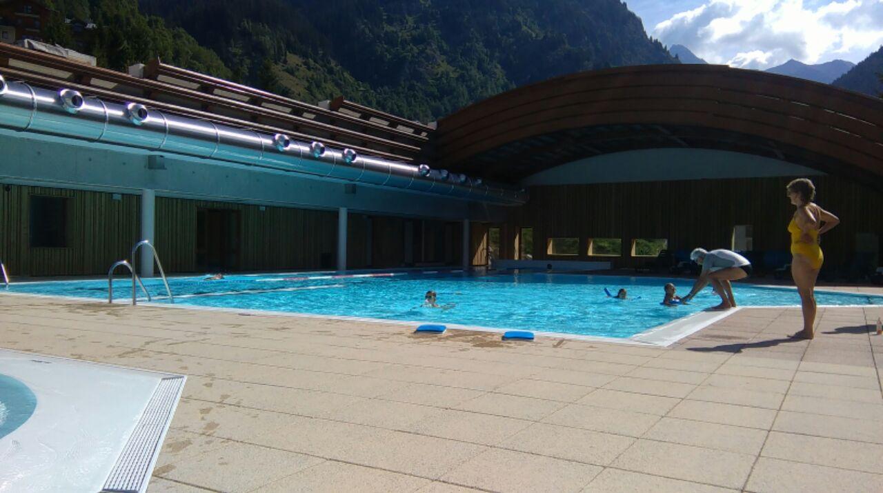 La piscine de Champagny-en-Vanoise