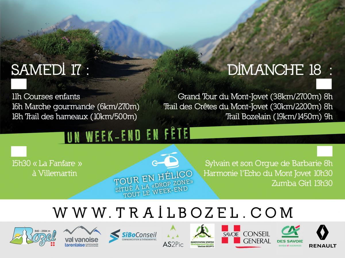 Les trails de Bozel en Savoie