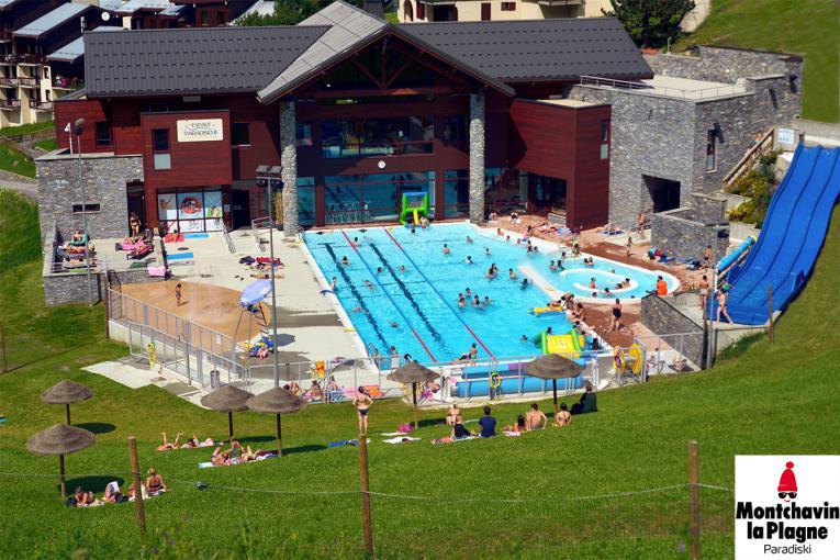 Le centre aquatique de Montchavin-La Plagne