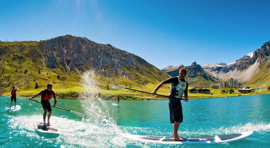 Le stand-up paddle sur les lacs de montagne !