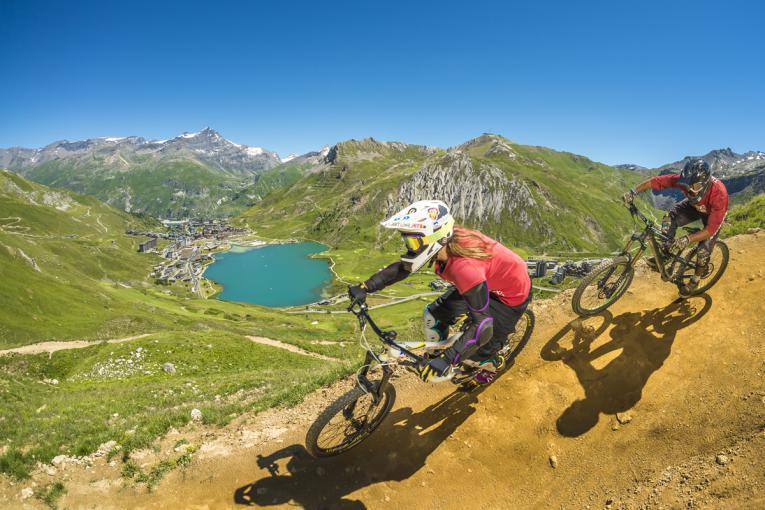 Spécial VTT, Bike Park Tignes - Val d'Isère