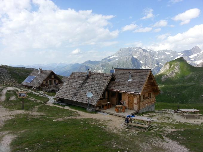 Trail à Pralognan - Tour des Glaciers de la Vanoise