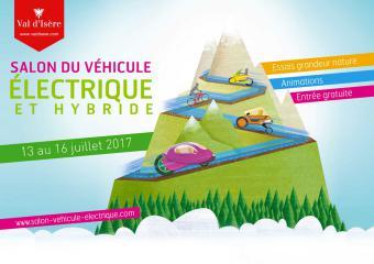 Le salon du véhicule électrique de Val d'Isère