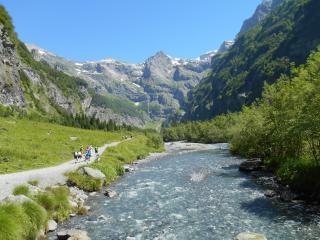 Les cascades de montagne