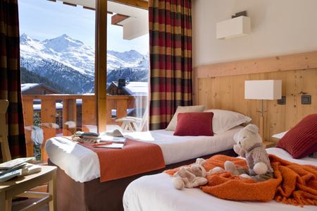 Prestige Résidence P&V Premium les Crêts - Méribel-Mottaret - Alpes du Nord