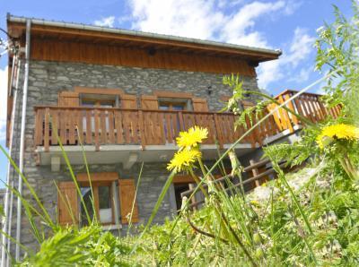 Location au ski Chalet triplex 8 pièces 16 personnes - Chalet Balcon Cime De Caron - Les Menuires - Extérieur été