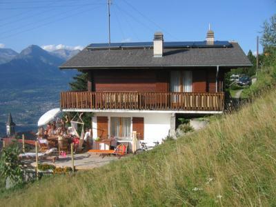 Location au ski Chalet Cny - Veysonnaz - Extérieur été