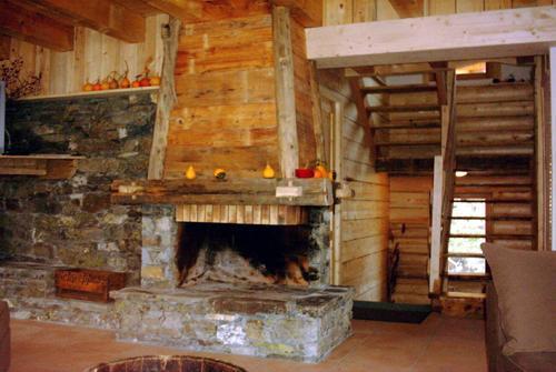 Chalet gran koute partir de 2352 location vacances montagne les menuires - Chalet cheminee montagne ...