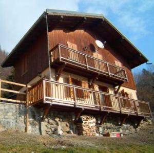 Location au ski Chalet 4 pièces mezzanine 10 personnes (166) - Chalet La Pierre - Arêches - Extérieur été