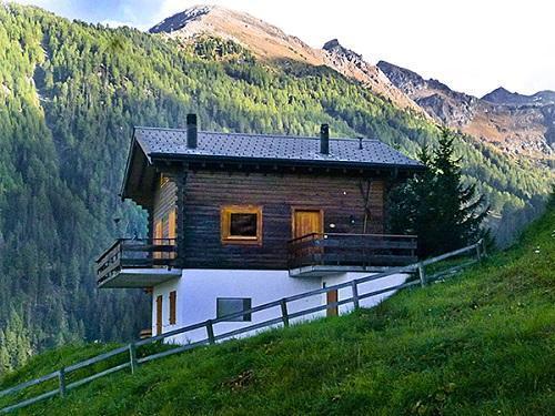 Location au ski Chalet Lange - La Tzoumaz - Extérieur été
