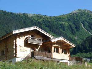 Location au ski Appartement 3 pièces 6 personnes (79) - Chalet Le Bois - Arêches - Extérieur été
