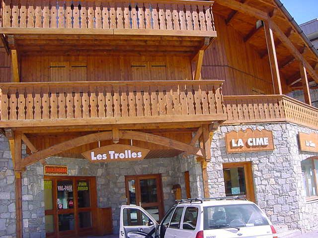 Location au ski Appartement 3 pièces cabine 6 personnes (02) - Chalet Les Trolles - Val Thorens - Extérieur été