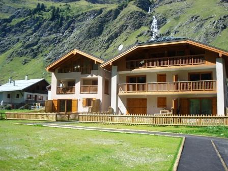Location au ski Appartement 4 pièces 8-10 personnes - Chalets De La Chiserette - Champagny-en-Vanoise - Extérieur été