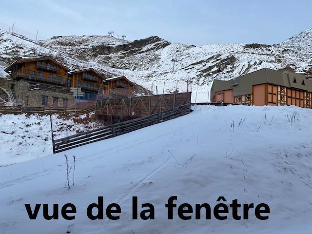 Location au ski Studio 2 personnes (111) - La Residence La Roche Blanche - Val Thorens - Extérieur été