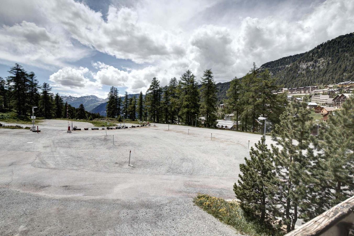Location au ski Studio coin nuit 4 personnes (AUT118) - La Residence Les Chalmettes - Montgenèvre - Extérieur été
