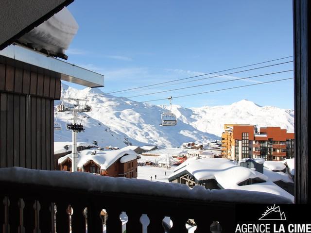 Location au ski Studio 4 personnes (070) - La Residence Les Eterlous - Val Thorens - Extérieur été