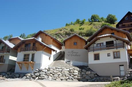 Location au ski Les Fermes De L'archaz - Valloire - Extérieur été