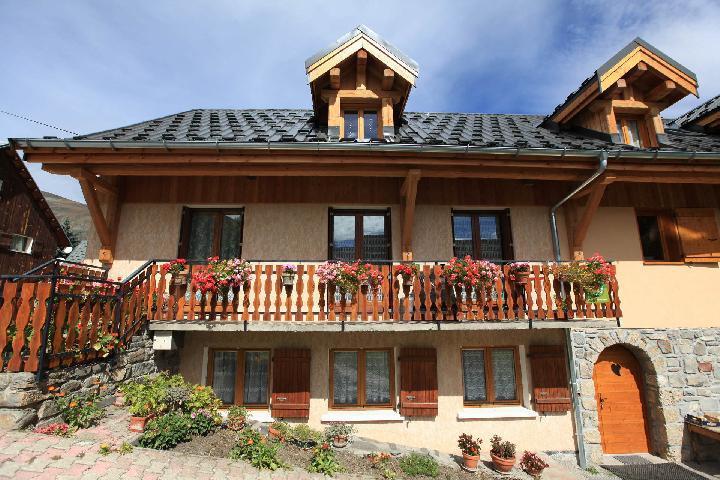 Location au ski Maison Feutrier - Valloire - Extérieur été