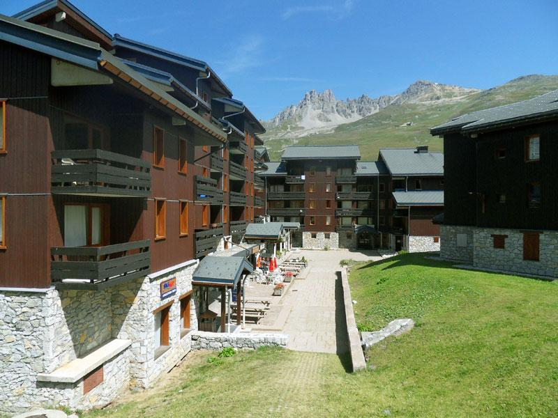 Location au ski Residence Candide - Mottaret - Extérieur été