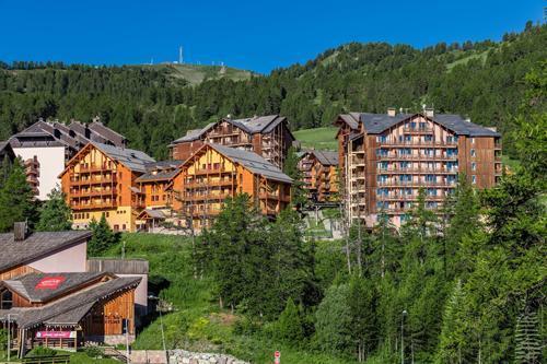 Location au ski Residence Cassiopee - Risoul - Extérieur été