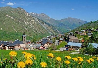 Location au ski Residence Chanteneige Croisette - Les Menuires - Extérieur été