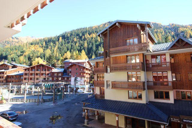 Location au ski Studio cabine 4 personnes (26) - Residence Chaviere - Valfréjus - Extérieur été