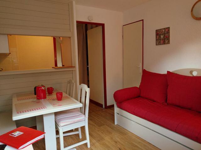 Location au ski Studio cabine 4 personnes (22) - Residence Chaviere - Valfréjus - Extérieur été