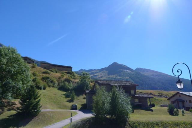 Location au ski Studio coin montagne 4 personnes (094) - Residence Chevallier - Val Cenis - Extérieur été