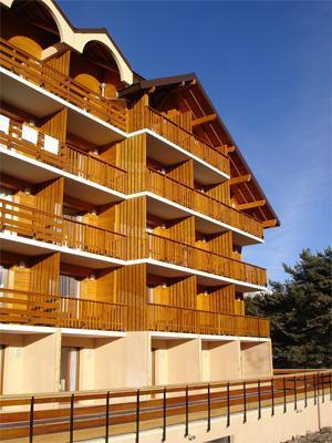 Location au ski Residence Horizon Blanc - La Joue du Loup - Extérieur été