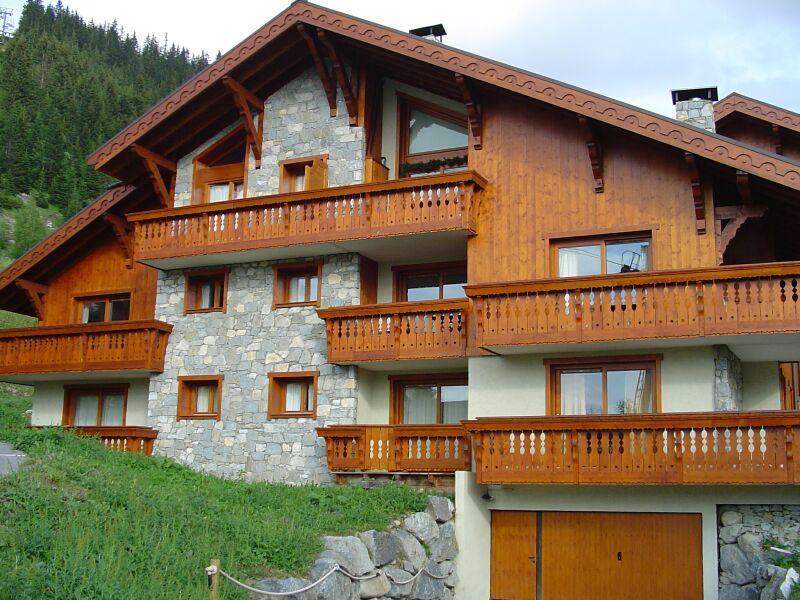 Location au ski Residence Jardin D'eden - Méribel - Extérieur été
