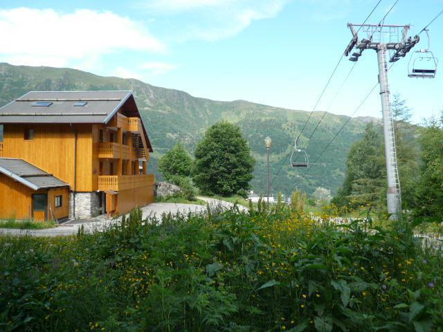Location au ski Appartement 3 pièces 7 personnes - Residence Jardin D'eden - Méribel - Extérieur été