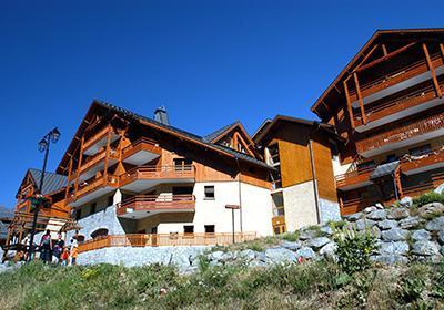Location au ski Residence La Cascade De Vaujany - Vaujany - Extérieur été