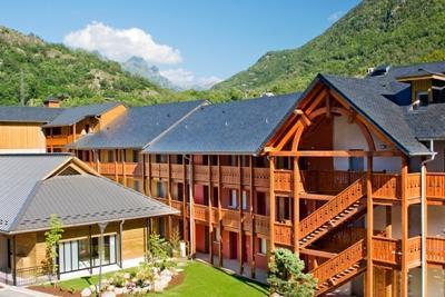 Location au ski Residence Lagrange Les Chalets D'ax - Ax-Les-Thermes - Extérieur été