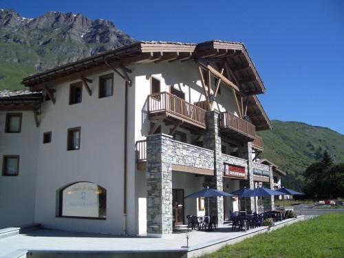 Location au ski Residence Le Clos Vanoise - Bessans - Extérieur été