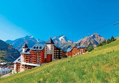 Location au ski Residence Le Flocon D'or - Les 2 Alpes - Extérieur été