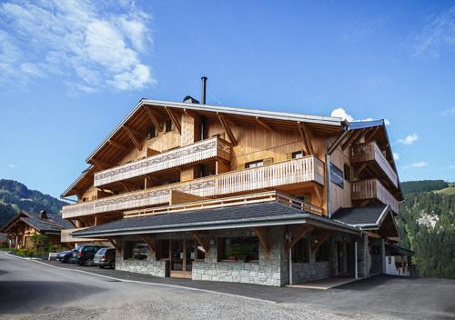 Location au ski Residence Le Grand Ermitage - Chatel - Extérieur été