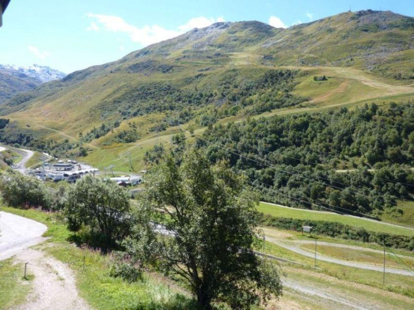 Location au ski Appartement 2 pièces mezzanine 6 personnes (C130) - Residence Le Jettay - Les Menuires - Extérieur été