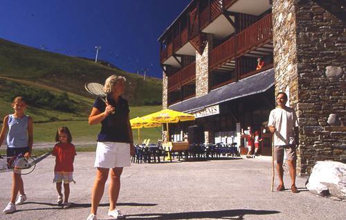 Location au ski Residence Le Privilege - Peyragudes - Extérieur été