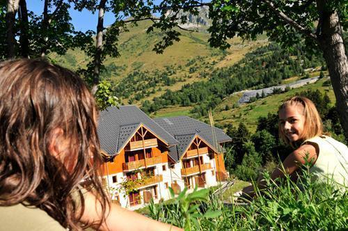 Location au ski Residence Le Rond Point Des Pistes - Saint-François Longchamp - Extérieur été