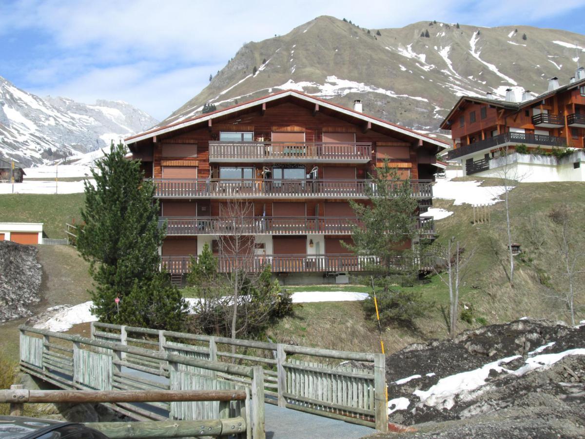 Location au ski Appartement 2 pièces mezzanine 5 personnes (301) - Residence Le Venay - Le Grand Bornand - Extérieur été