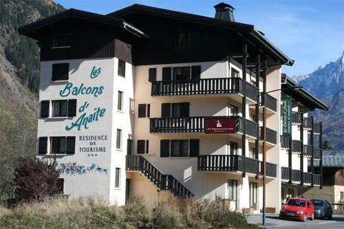 Location au ski Residence Les Balcons D'anaite - Les Houches - Extérieur été