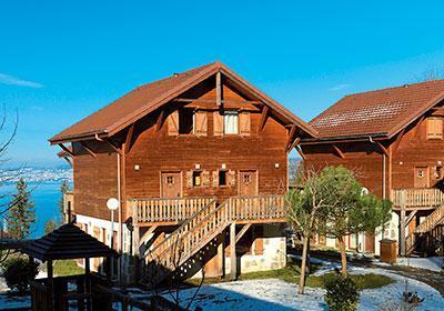 Location au ski Residence Les Chalets D'evian - Thollon les Memises - Extérieur été
