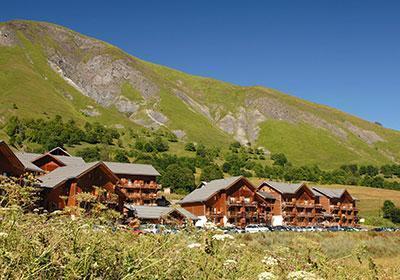 Location au ski Residence Les Chalets De L'arvan - Saint Sorlin d'Arves - Extérieur été