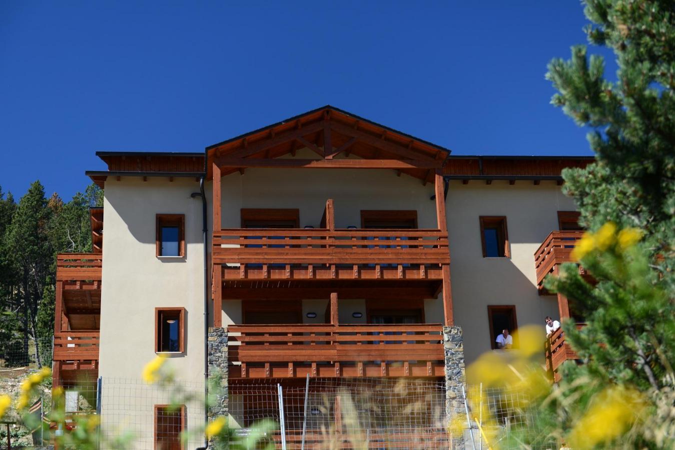 Location au ski Residence Les Chalets De L'isard - Les Angles - Extérieur été