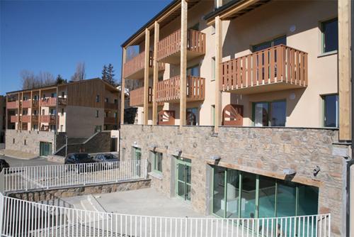 Location au ski Residence Les Chalets Du Belvedere - Font Romeu - Extérieur été