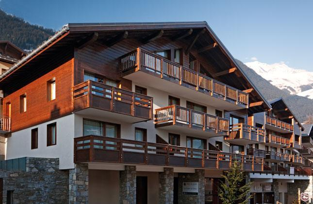 Location Residence Les Chalets Du Mont Blanc été