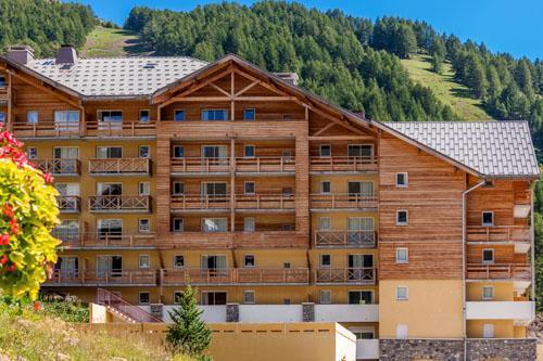 Location Residence Les Cimes Du Val D'allos été