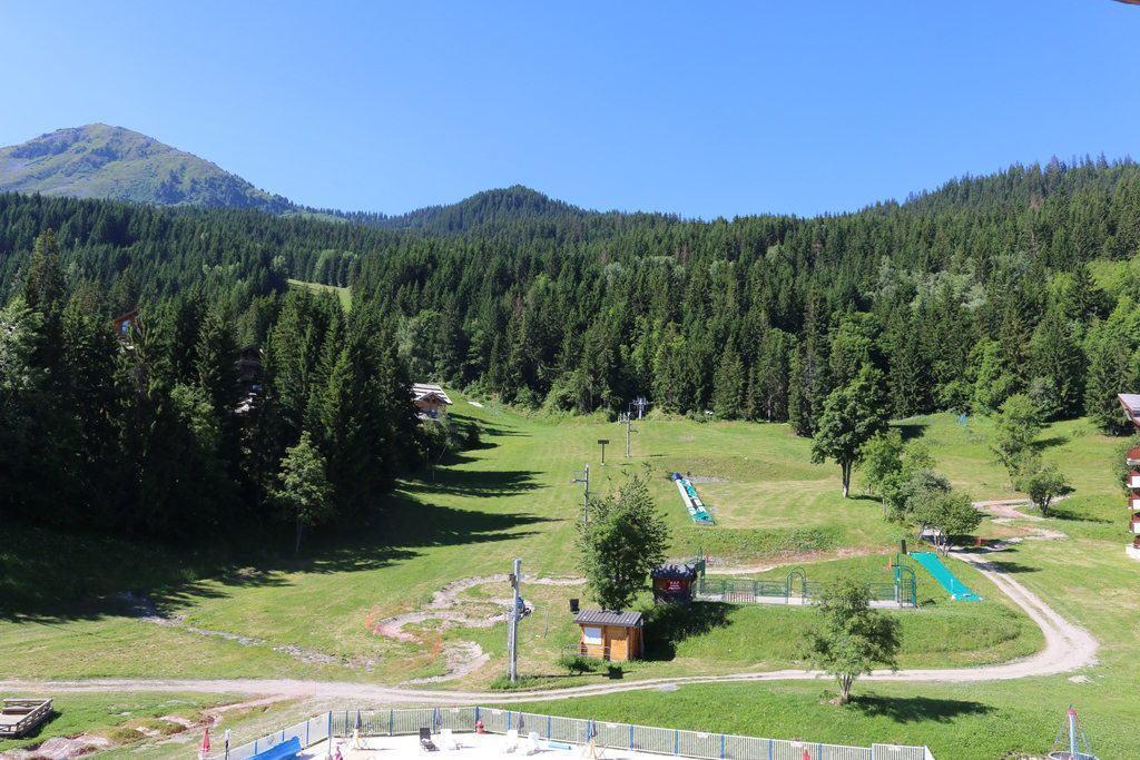 Location au ski Studio 4 personnes (56) - Residence Les Folyeres - La Tania - Extérieur été