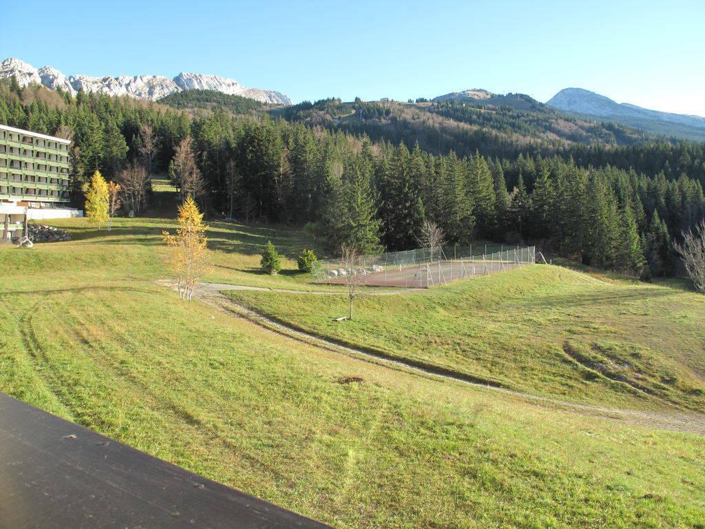 Location au ski Appartement duplex 3 pièces 7 personnes (302T12) - Residence Les Glovettes - Villard de Lans - Extérieur été